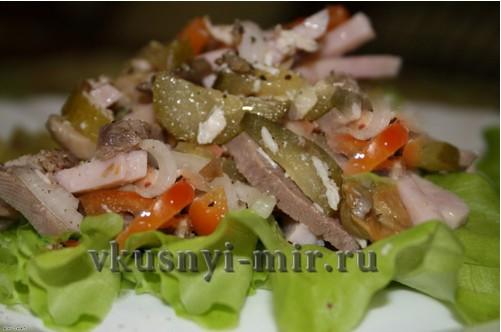 салат фаворит рецепт приготовления